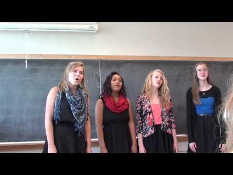 FZE Choir State Choir Quartet - Set Me As a Seal - 2014 At Columbia