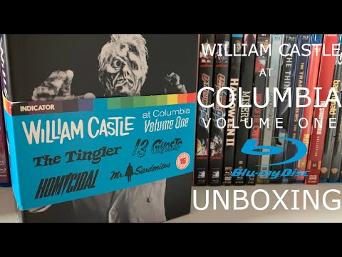William Castle At Columbia Volume One Blu Ray Unboxing