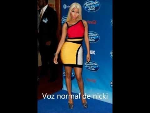 Nicki Minaj es Jay-z y Zendaya Coleman es justin bieber
