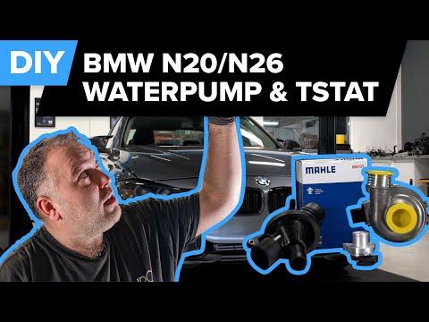 BMW F30 N20/N26 Water Pump & Thermostat DIY (328xi, 328i, 528i, Z4, X1, X3, 428i, 228i & more)