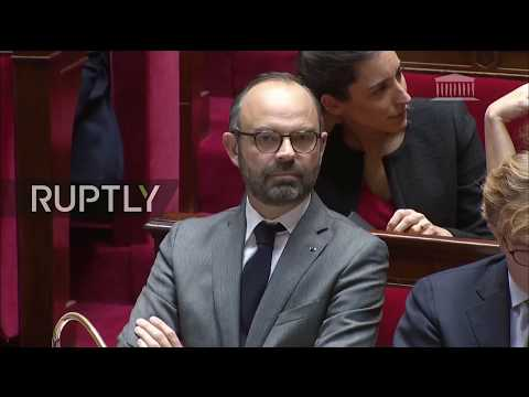 LIVE: French National Assembly holds vote of no confidence on Macron's government