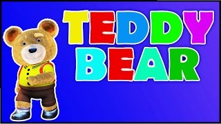 Teddy Bear Song - Kindergarten Nursery Rhymes | Kids Songs | Poems For Kids