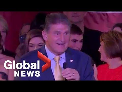Midterm Elections: West Virginia's Joe Manchin gives victory speech