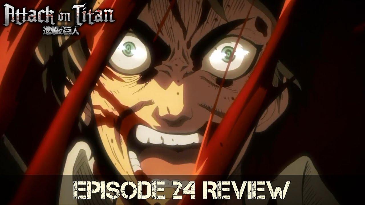 Eren Vs. Annie Incoming!! - Attack On Titan Episode 24 ...
