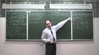 Математический анализ 2. Лекция 5b. Классы интегрируемых функций