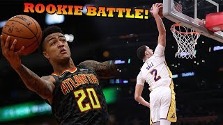 Lonzo Ball ENDS Lakers 9 Game LOSING STREAK!! John Collins Most SLEPT on Rookie?!