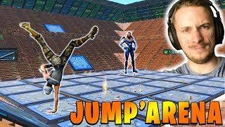 MODE DE JEU *JUMP'ARENA* sur FORTNITE BATTLE ROYALE !!!