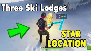 Search Between 3 Ski Lodges ! *Fortnite FREE TIER*