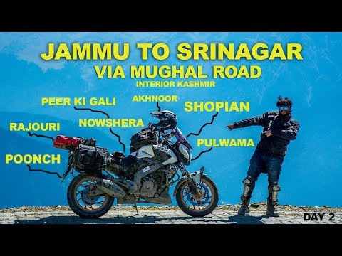 Jammu to Srinagar via Mughal Road | Peer Ki Gali | Poonch | Rajouri | Dominar | Kashmir |