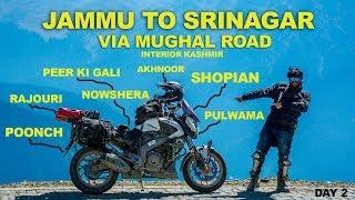 Jammu to Srinagar via Mughal Road   Peer Ki Gali   Poonch   Rajouri   Dominar   Kashmir  