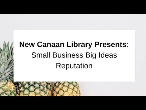 Small Business Big Ideas Reputation Matters May 2, 2017