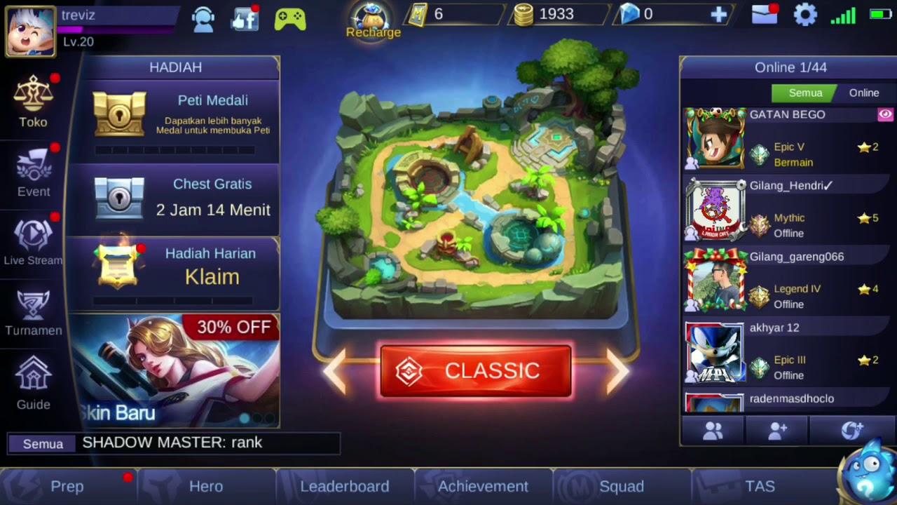 Cara Top Up Diamond Ilegal Mobile Legend Gampang Tanpa Ribet Hack