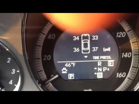 E Class Tire Pressure Youtube