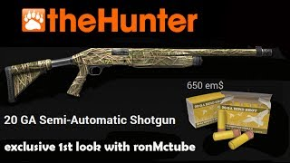 The Hunter 2014 20 GA Semi-Automatic Shotgun Exclusive 1080 HD