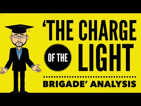Alfred Lord Tennyson's 'The Charge of the Light Brigade' Mr Bruff Analysis