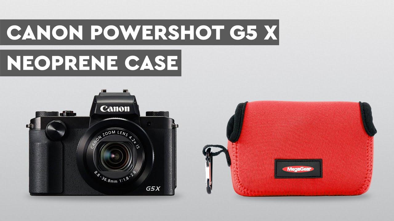 Megagear Neoprene Camera Case For Canon Powershot G5 X Ultra G5x Kamera Pocket Light Series