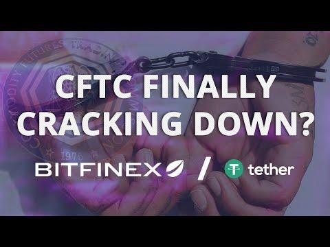 CFTC Cracks Down on Tether (USDT) and Bitfinex w/ Subpoenas