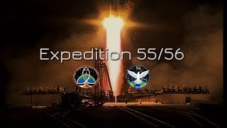 Meet the Expedition 55/56 Crew