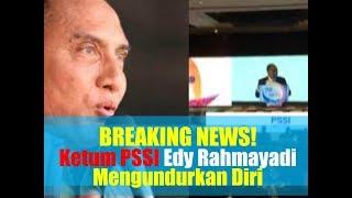 Download Video Video Detik-detik Ketua Umum PSSI Edy Rahmayadi Mengundurkan Diri di Kongres PSSI 2019 MP3 3GP MP4