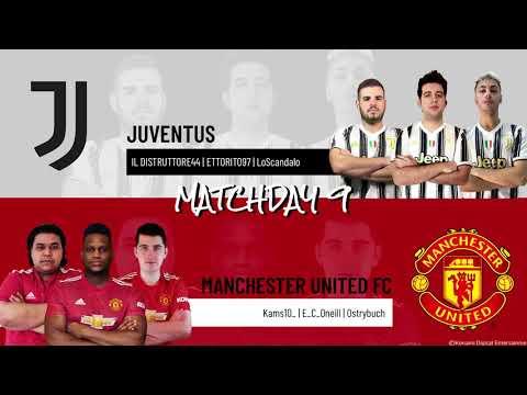 Juventus vs. Manchester United FC | Highlights Matchday 9 eFootball.Pro IQONIQ 2020-2021