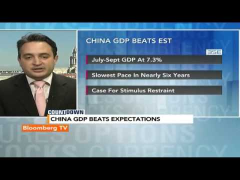 Countdown: China GDP Beats Expectations