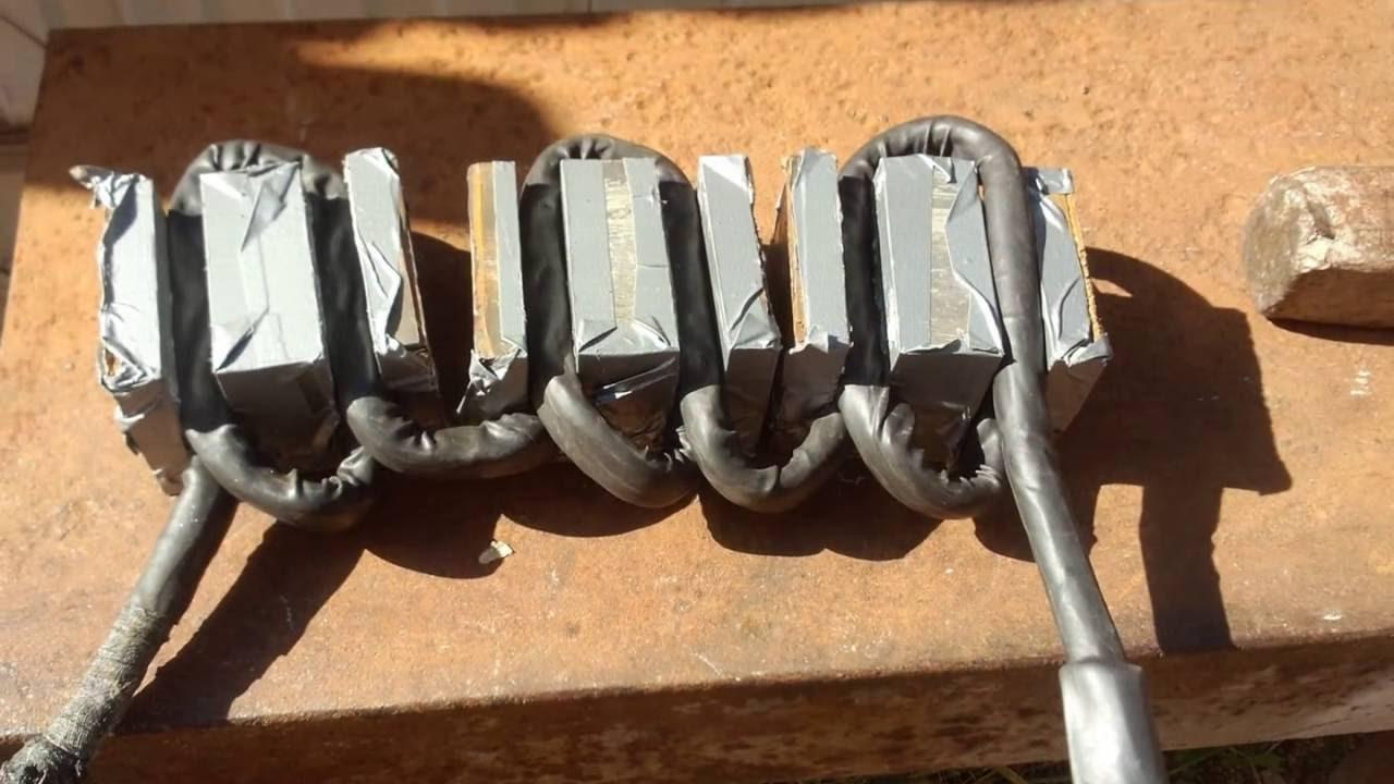 Трансформатор для микроволновки своими руками 162