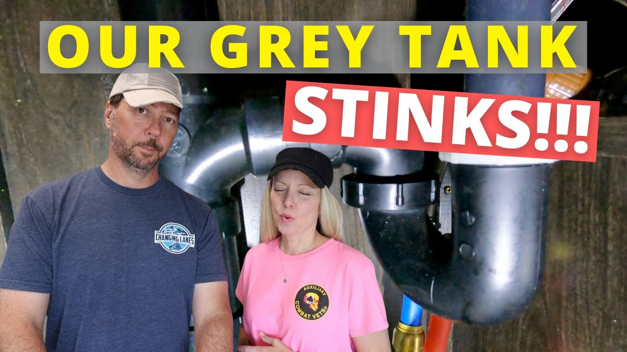 🦨  Smelly RV Tanks! (RV Tank Cleaning) (Full Time RV)