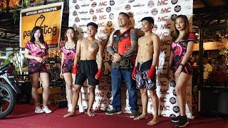 UNDERGROUND BATTLE MMA FIGHT NIGHT at Sidewalk Food Hub in Bacoor, Philippines