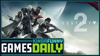 Destiny 2 Tries to Right the Ship - Kinda Funny Games Daily 12.12.17