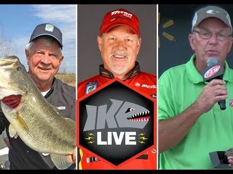 A representative from BASS, MLF and FLW Join Ike Live for Discussion