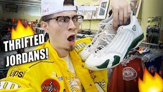 Trip to the Thrift #101 Jordan 14's for $8!! Jordan Laser 4's?! Sneakers on deck!