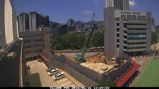 Munsang College Redevelopment of Block E Time Lapse video (Jun 18)