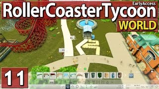 Roller Coaster Tycoon World #11 PARKERWEITERUNG deutsch german
