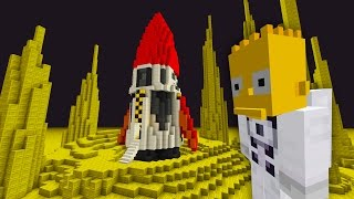 Video Bart Simpson Trip To The Moon | The Simpsons  | Minecraft Xbox [57] download MP3, 3GP, MP4, WEBM, AVI, FLV Mei 2018
