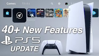 PS5 System Update: Over 40 New Features, Changes, Secrets, and Fixes