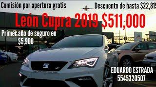 Seat Leon CUPRA 2019 - Seat Puerto Aéreo - Eduardo Seat Ventas