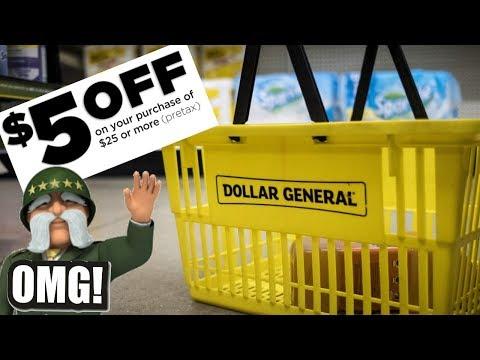 🔥Dollar General *NEW* $5/25 DEALS: April 27!
