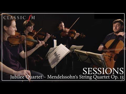 Jubilee Quartet – Mendelssohn's String Quartet Op. 13