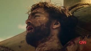 Молодёжный проект.  Другая Реальность. IKONOSSTAS.  С Креста стекает кровь Христа