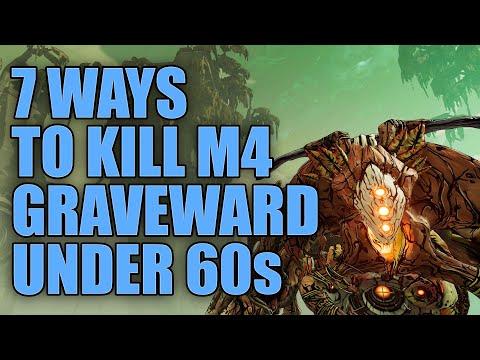 Borderlands 3 | 7 Ways to Kill Mayhem 4 Graveward in Under 60 Seconds