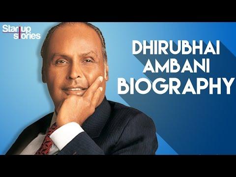 Dhirubhai Ambani Success Story | Reliance Industries Founder Biography | Startup Stories