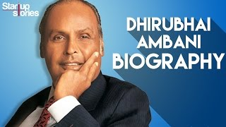 Dhirubhai Ambani Success Story | Reliance Industries Founder Biography | Startup Stories