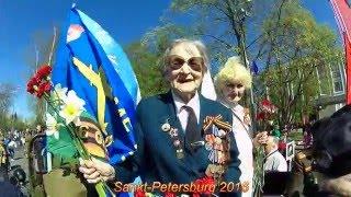 День Победы 9 мая  Сестрорецк 2016  Салют