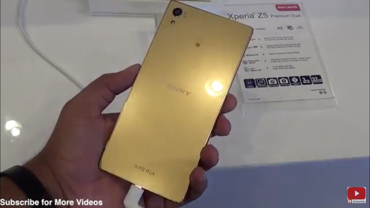 Xperia Z5 Premium – Discover the world's first 4K display* from .