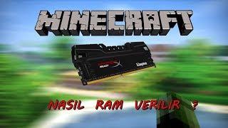 Minecraft Java'ya Nasıl Ram Verilir.