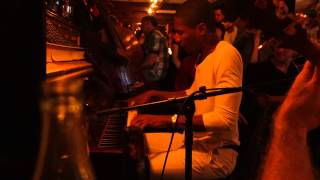 Jon Batiste and Bria Skonberg sit in at the Rum House Hot Jazz Late Nights