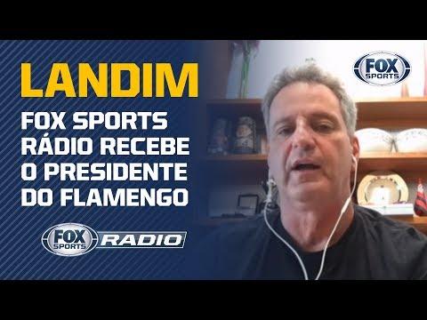 FOX SPORTS RÁDIO recebe o presidente do Flamengo - Programa completo (27/03)