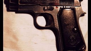 Beretta mod 34 cal.7.65 - smontaggio e pulizia  (parte 1)