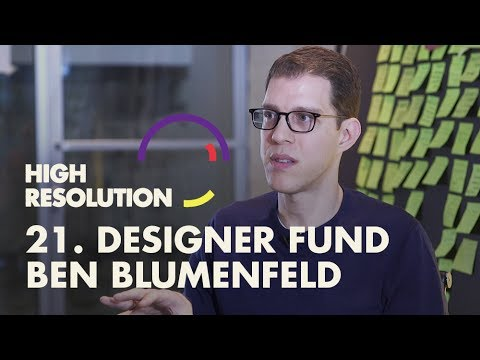 #21: Designer Fund's Ben Blumenfeld on how designers can become successful founders