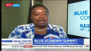 Blue economy summit : Our oceans have become death places for animals says Monica Juma